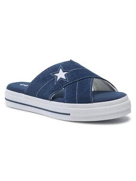Converse Converse Klapki One Star Sandal Slip 564147C Granatowy