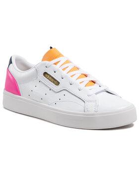 adidas adidas Обувки Sleek W FY5058 Бял