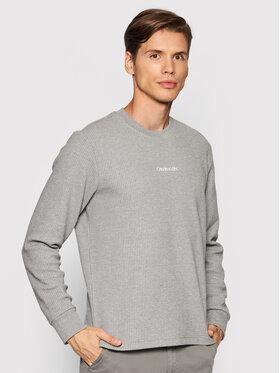 Calvin Klein Calvin Klein Bluza Lightweight K10K107338 Szary Regular Fit
