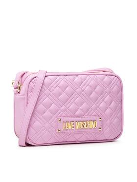 LOVE MOSCHINO LOVE MOSCHINO Дамска чанта JC4010PP1DLA0607 Розов