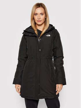 The North Face The North Face Parka Brooklyn NF0A4M8X Czarny Slim Fit