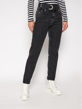 Calvin Klein Jeans Calvin Klein Jeans Slim Fit farmer Mom J20J214559 Fekete Slim Fit
