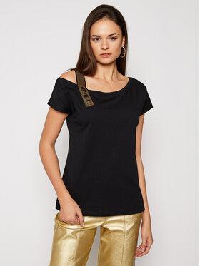 Liu Jo Liu Jo T-Shirt WA1403 J5703 Czarny Regular Fit