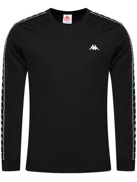 Kappa Kappa Тениска с дълъг ръкав Iantan 309003 Черен Regular Fit