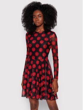 Desigual Desigual Každodenní šaty Kristal 21WWVK58 Červená Slim Fit