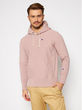Champion Champion Sweatshirt C Logo 215214 Rosa Regular Fit