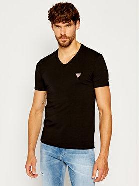 Guess Guess T-Shirt Core M0YI32 J1300 Černá Super Slim Fit