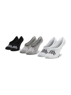 Vans Vans Súprava 3 párov kotníkových ponožiek dámských Wm 1-6 3Pk Asst VN0A48HI4481 Farebná