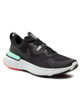 Nike Nike Boty React Miler CW1777 013 Černá