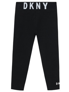 DKNY DKNY Leggings D34A09 D Nero Slim Fit