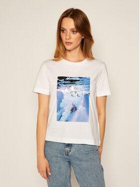 Calvin Klein Jeans Calvin Klein Jeans Tričko J20J214239 Biela Regular Fit