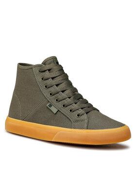DC DC Sneakersy Manual Hi Txse ADYS300644 Zelená