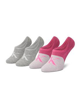 Calvin Klein Jeans Calvin Klein Jeans Zestaw 2 par stopek damskich 100003037 r.OS Różowy