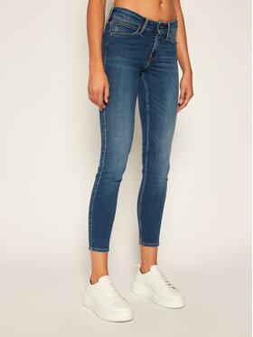 Lee Lee jeansy_skinny_fit Scarlett L526PVQL Tamsiai mėlyna Skinny Fit