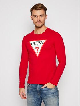 Guess Guess S dlhými rukávmi M0BI31 I3Z11 Červená Slim Fit