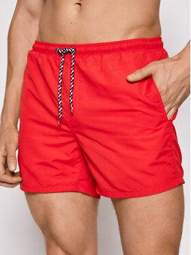 Only & Sons ONLY & SONS Pantaloni scurți pentru înot Ted 22019092 Roșu Regular Fit