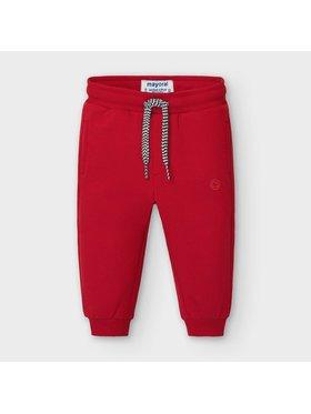 Mayoral Mayoral Spodnie dresowe 704 Czerwony Regular Fit