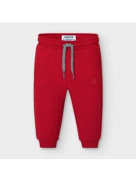 Mayoral Mayoral Teplákové kalhoty 704 Červená Regular Fit