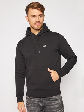 Tommy Jeans Tommy Jeans Bluză Regular Fleece DM0DM09593 Negru Regular Fit
