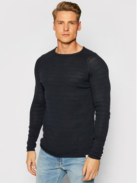 Only & Sons ONLY & SONS Sweter Pete 22018599 Granatowy Slim Fit