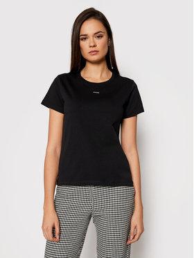 Pinko Pinko T-Shirt Basico PE 21 1G1649 Y4LX Czarny Regular Fit