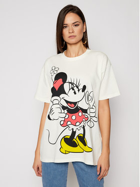 Levi's® Levi's® T-Shirt DISNEY Mickey & Friends A0618-0000 Biały Relaxed Fit