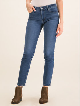 Levi's® Levi's® Jeansy Slim Fit 712™18884-0189 Tmavomodrá Slim Fit