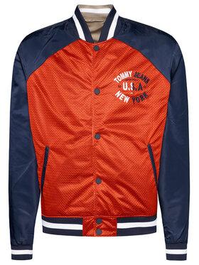 Tommy Jeans Tommy Jeans Bomber striukė Tjm Reversible DM0DM07793 Smėlio Regular Fit