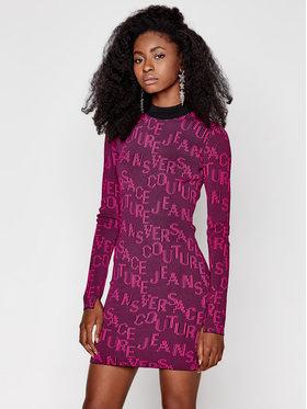 Versace Jeans Couture Versace Jeans Couture Úpletové šaty B4HZB810 Ružová Slim Fit