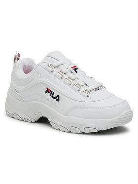 Fila Fila Sneakersy Strada Low Kids 1010781.1FG Biały