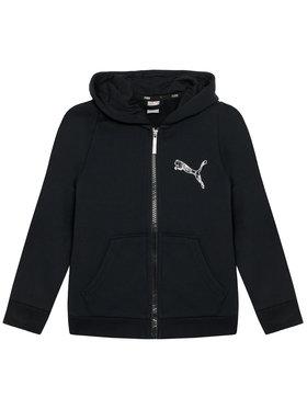 Puma Puma Pulóver Ka Full Zip 583237 Fekete Regular Fit