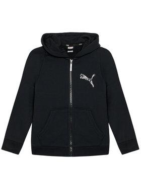 Puma Puma Суитшърт Ka Full Zip 583237 Черен Regular Fit
