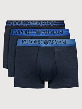 Emporio Armani Underwear Emporio Armani Underwear Sada 3 kusů boxerek 111357 1A723 70435 Tmavomodrá