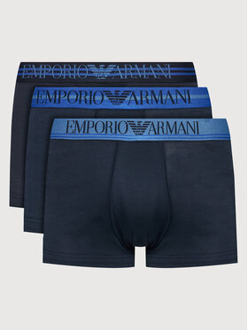Emporio Armani Underwear Emporio Armani Underwear Set 3 perechi de boxeri 111357 1A723 70435 Bleumarin