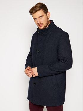 Pierre Cardin Pierre Cardin Cappotto di lana 71220 3932 Blu scuro Regular Fit