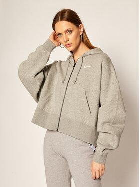 NIKE NIKE Bluză Sportswear Essential Fleece Hoodie CK1505 Gri Loose Fit