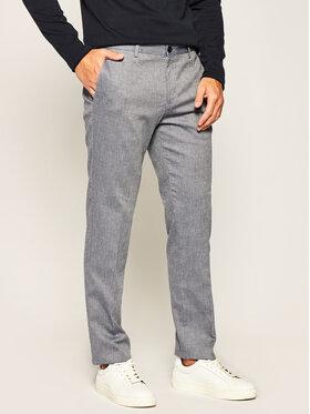 Boss Boss Spodnie materiałowe Stanino17-W 50427212 Granatowy Slim Fit