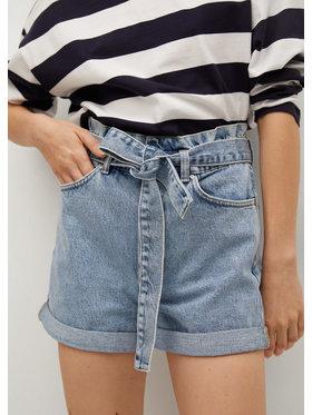 Mango Mango Szorty jeansowe Mia 17050198 Niebieski Regular Fit