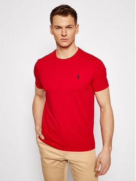 Polo Ralph Lauren Polo Ralph Lauren T-shirt Ssl 710680785008 Rouge Custom Slim Fit