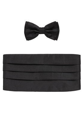 Boss Boss Geschenkset Set Bow Tie+Cumm 50307920 Schwarz