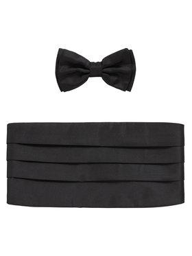 Boss Boss Set regali Set Bow Tie+Cumm 50307920 Nero