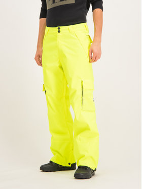 DC DC Spodnie snowboardowe EDYTP03047 Zielony Regular Fit