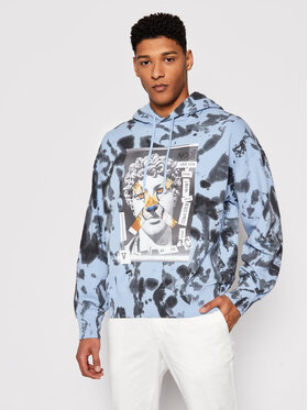 Versace Jeans Couture Versace Jeans Couture Džemperis B7GWA7VE Mėlyna Relaxed Fit
