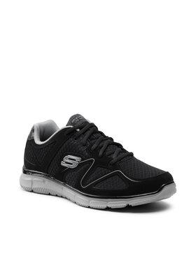 Skechers Skechers Sneakersy Flash Point 58350/BKGY Czarny