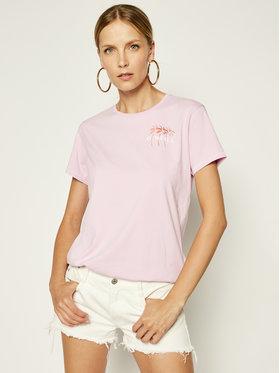 O'Neill Tričko Doran 0A7324 Ružová Regular Fit