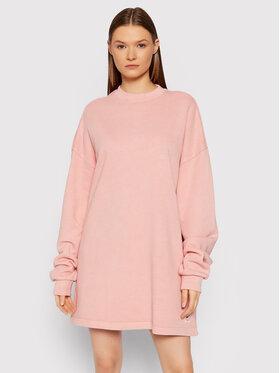 Reebok Reebok Плетена рокля Natural Dye Crew GR0399 Розов Oversize
