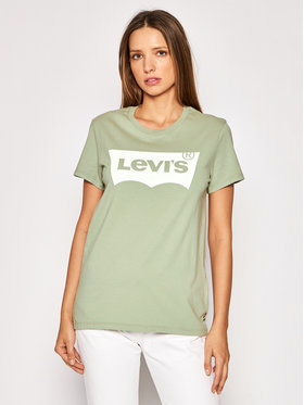 Levi's® Levi's® Tricou The Perfect Tee 17369-1611 Verde Regular Fit