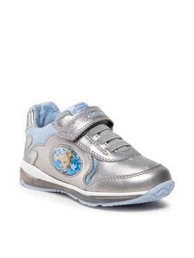 Geox Geox Sneakersy B Todo G. B B1685B 000NF C1009 Srebrny