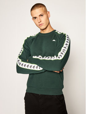 Kappa Kappa Bluză Harris 308016 Verde Regular Fit