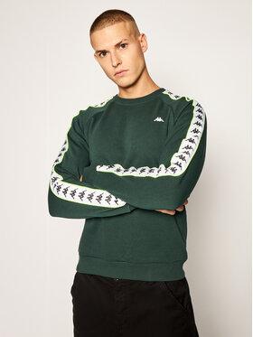 Kappa Kappa Μπλούζα Harris 308016 Πράσινο Regular Fit